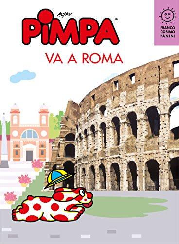 Pimpa va a Roma (Città in gioco) (Italian Edition)
