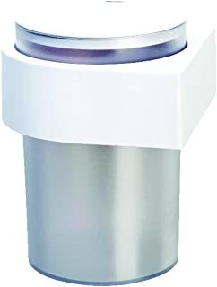 Lcjtaifu M/öbel Nahtlose Wand-M/ülleimer Haushalt tragbar mit Deckel Aufbewahrungseimer Kreatives Badezimmer mit Deckel M/ülleimer schwarz
