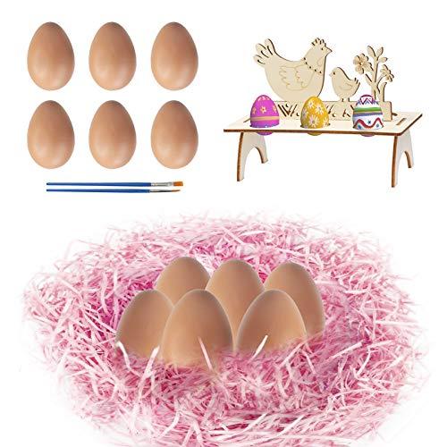 LAMEK 10 TLG Soporte para Huevos de Pascua Estantes para Huevos de...