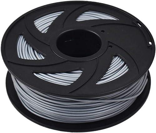 popular ABS 3D Printer Filament online sale - 2.20 lb (1KG) The outlet sale Diameter of 3.00 mm, Dimensional Accuracy ABS Multiple Color (Silver) sale