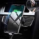 USAMS Chargeur sans Fil,Support Téléphone Voiture Portable Auto Inductif Fort pour...
