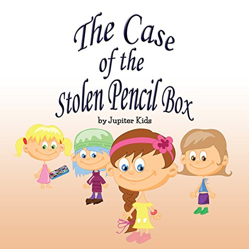The Case of the Stolen Pencil Box cover art