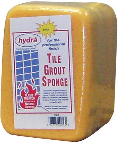 Hydra Tile Grout Sponge, Package of 3