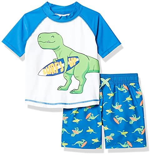 Simple Joys by Carter's traje de baño de 2 piezas para bebés y niños pequeños ,Dino...