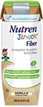 Nutren Junior with Fiber, Nutren Jr W-Fiber Van 250ml, (1 CASE, 24 Each)