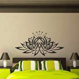 Sin Marco-Lotus Pegatina de Pared diseño Creativo Living roo