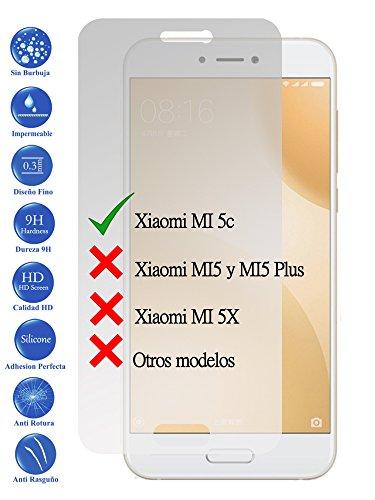 Todotumovil Protector de Pantalla Xiaomi MI 5C MI5C de Cristal Templado Vidrio 9H para movil