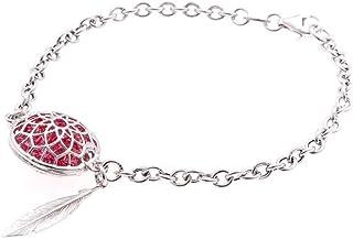 Caramella Gioielli Bracciale Acchiappasogni con Cristalli Colorati in Argento 925 Collezione Dream