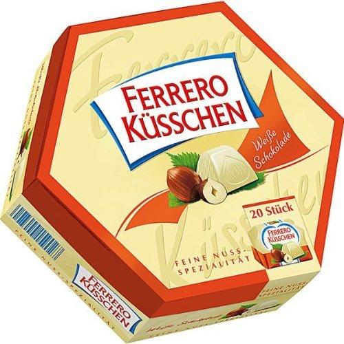 Ferrero Küsschen weiße Schokolade Menge:178g