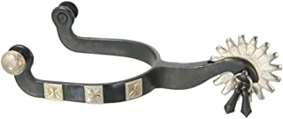 Kelly Silver Star Spurs Tucson Jingle Bob Show Horse Mens Black 78-970