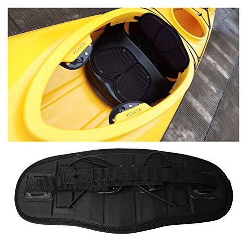 ZRNG Canoa Kayak Silla de Barco Respaldo Espesar Espuma de Espuma Suave Remo de Remo Antideslizante Asiento Respaldo cómodo Almohadilla Kayak Accesorios