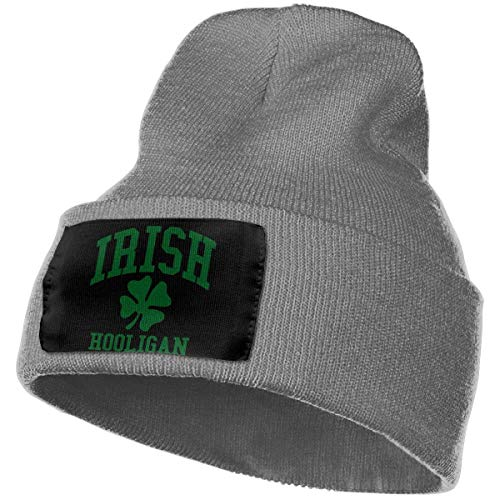 hgdfhfgd Keep warm Woolen Cap for Men Women, 100% Acrylic Acid Irish Hooligan Beanie Hat Keep warm 19051