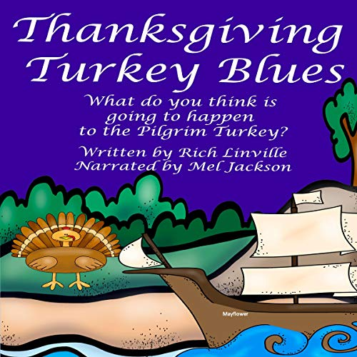 Thanksgiving Turkey Blues audiobook cover art