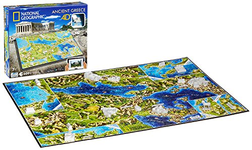 Eleven Force - Puzzle 4D civilizaciones Antiguas, diseño Grecia (10022)