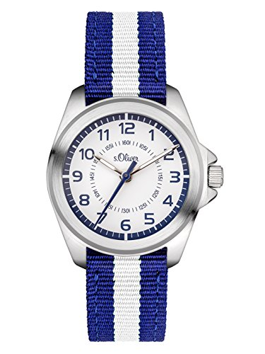 s.Oliver Jungen-Armbanduhr SO-3401-LQ