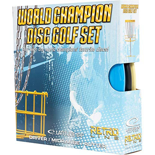 Latitude World Champion Disc Golf Set 3...