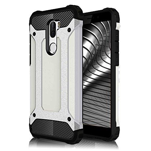 Funda Rígida para Xiaomi Mi 5s Plus   TPU   2 piezas en Plata   Protección