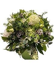 【エスプリオフルール】【THE BOTANICALS ARTS & esprio fleurs】【生花】【Special Flower Gift White×Green/ART STONE arrangement】【御悔やみ・御供え・命日・法事・お彼岸・お盆】