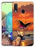 Sunrive Coque Compatible avec Samsung Galaxy A40, Silicone Étui Housse Protecteur Souple Gel...