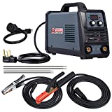 Amico ARC-200, 5-200 Amp Stick Arc Lift-TIG Combo Welder, 100-250V Wide Voltage Welding, 80% Duty Cycle, Compatible with all Electrodes: E6010 E6011 E6013 E7014 E7018 etc.