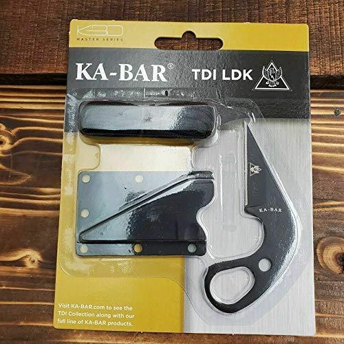 """Zenin Knife"" 1478BP TDI LDK Law Enment Black Fixed Blade Neck Knife With Sheath - The best knives!!!"