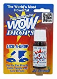 Wow Lick A Drops Breath Freshener, Peppermint, 0.34 oz (pack of 1