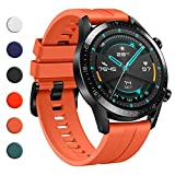 YHC Cinturino per Huawei Watch GT 2 / GT 2e 46mm,Compatibile con Huawei Watch GT/GT Active 46...