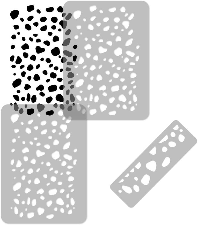 KIDS Reusable Limited time for free shipping Plastic Wall Stencil DALMATIAN x SEAL limited product 37.4