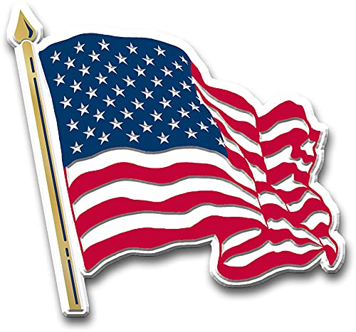 American Flag Magnet (Waving) by Classic Magnets,...