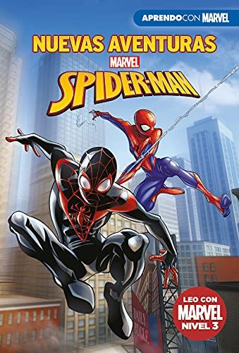 Nuevas aventuras de Spider-Man (Leo con Marvel - Nivel 3): Una noche muy extraña | Spider-Men | A la caza de Black Panther | ¡Veo manchas!