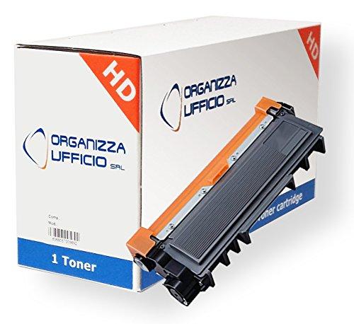 Organizza Ufficio I-TN2320 Toner per HL-L2300D, L2340DW, L2360DN, L2365DW, DCP-L2500D, L2520DW, L2540DN, L2560DW, MFC-L2700DW, L2720DW, L2740DW. Durata 2600 Pagine