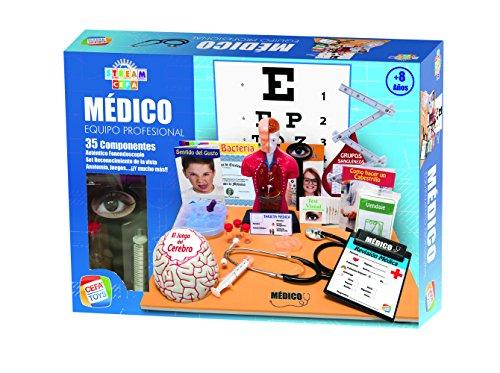 Cefa Toys- Equipo Profesional de Médico StreamCefa, Color (