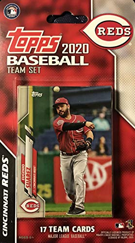 Cincinnati Reds 2020 Topps Factory Sealed Special Edition 17 Card Team Set with Eugenio Suarez and Joey Votto Plus