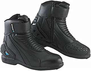 Spada ICON WP Motorcycle Sports Short Boots - Black New EC 37