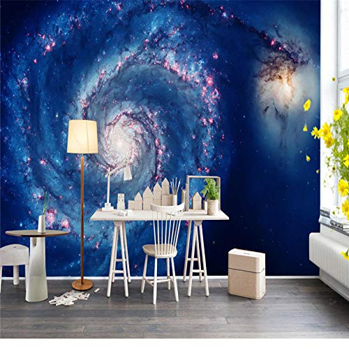 SKTYEE Universo Starry Sky Photo Wallpaper Murals Paisaje de Star Wars Papeles decorativos para paredes Sala de estar 3D Dormitorio Fondo Decoración para el hogar, 400x280 cm (157.5 by 110.2 in)