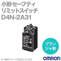 オムロン(OMRON) D4N-2A31 形D4N 小形セーフティ・リミットスイッチ (プランジャ形) (1コンジット形) (1NC/1NO) NN