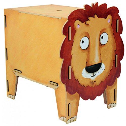 Hocker Vierbeiner Löwe