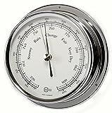 Barigo 184cr Regatta Marine Schiffsbarometer Chrom B x H: 120mm x 40mm -