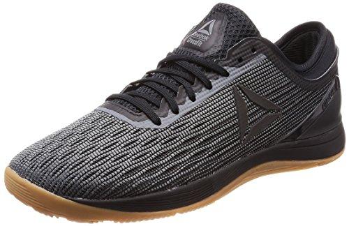 Reebok Crossfit Nano 8.0, Zapatillas de Deporte para Hombre, Negro Black/Alloy/Gum, 44.5 EU