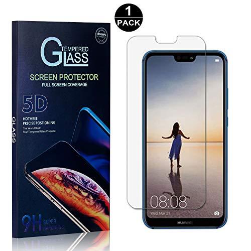 Bear Village® Huawei P20 Lite Displayschutzfolie, 9H Hart Schutzfilm aus Gehärtetem Glas, Anti-Kratzen Displayschutz Schutzfolie für Huawei P20 Lite, 1 Stück