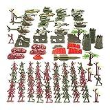 THE TWIDDLERS Set Juguetes Soldados 519 Piezas | Juguete Plastico de Figuras Militares Munecos...