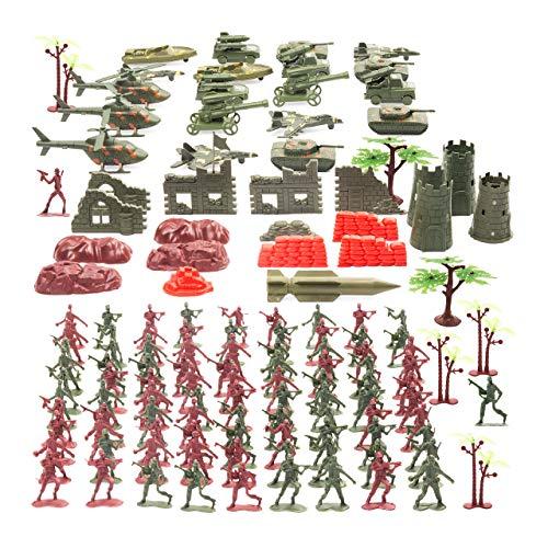 THE TWIDDLERS 519 Piezas Conjunto de Soldados de Juguete - Juguete Personas Figuras de Acción