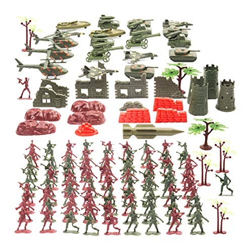 THE TWIDDLERS Set Juguetes Soldados 519 Piezas | Juguete Pla