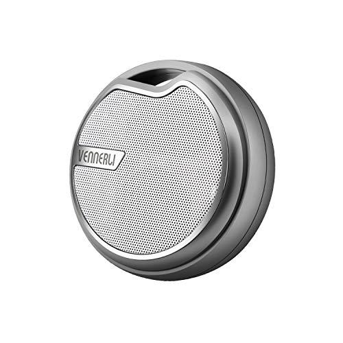 Fahrradradio Mini Bluetooth Lautsprecher 5.0 mit Halterung Klein Travel Musikbox IPX5 Tragbare Sport Lautsprecher Unterstützt USB TF Aux SD-Karte für Strand Bergsteigen Reisen Campen von VENNERLI