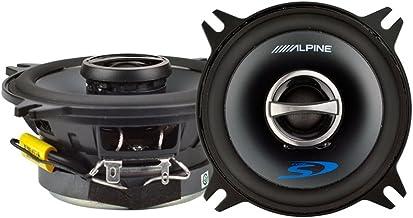 "Alpine 4"" Coaxial 2 Way 140W 4 Ohm Wide Range Car Audio Speakers SPS-410 (Pair) photo"