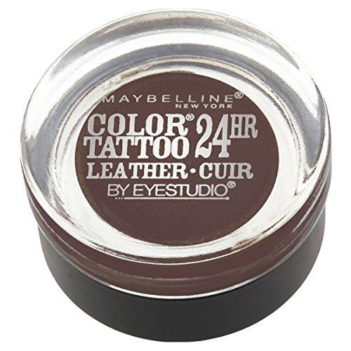 MAYBELLINE - Eye Studio Color Tattoo Leather 24HR Cream Gel Eyeshadow 95 Chocolate Suede - 0.14 oz. (4 g)