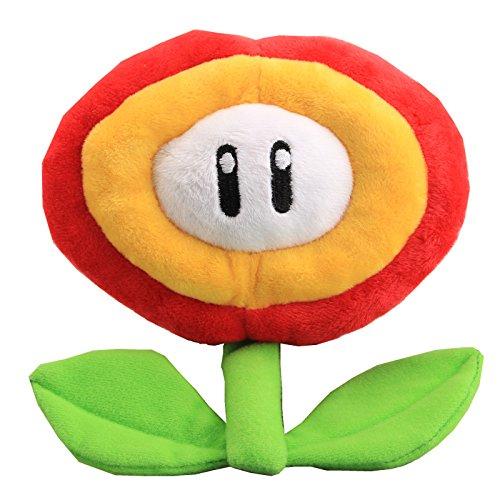 uiuoutoy Super Mario Bros. Fire Flower Plush 7''