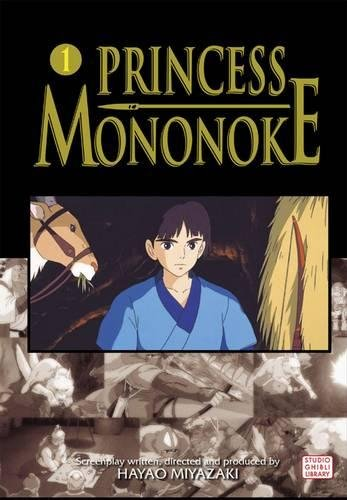 PRINCESS MONONOKE FILM COMIC GN VOL 01