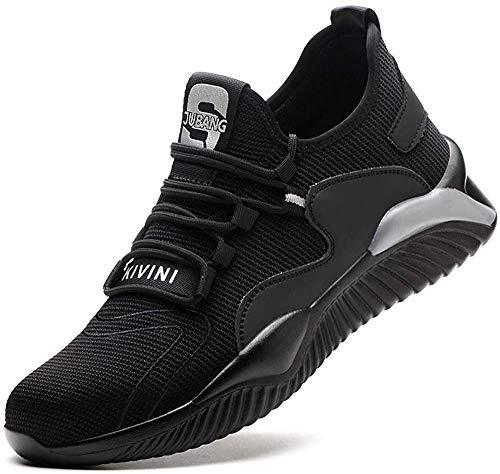 scarpe da ginnastica uomo ducati LBHH Scarpe Antinfortunistiche Scarpe da Lavoro Scarpe da Costruzione Calzature di Sicurezza Uomo Donna Scarpe da Ginnastica Leggere di Sicurezza con Puntale in Acciaio Perforato