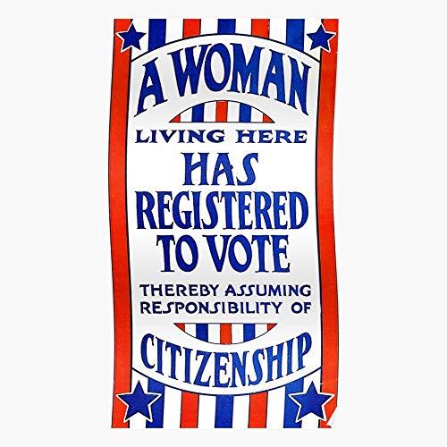 Hardymedicalsupplies Suffrage Rights Voting History Constitution Womens Home Decor Wandkunst drucken Poster !